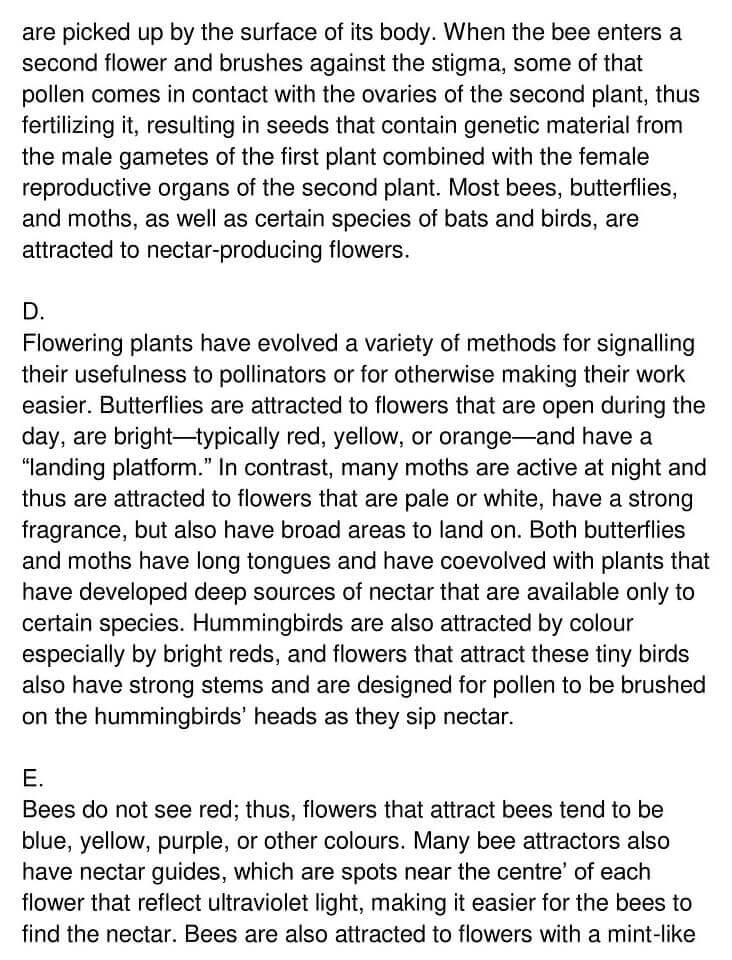 'Pollination' Answers_0002