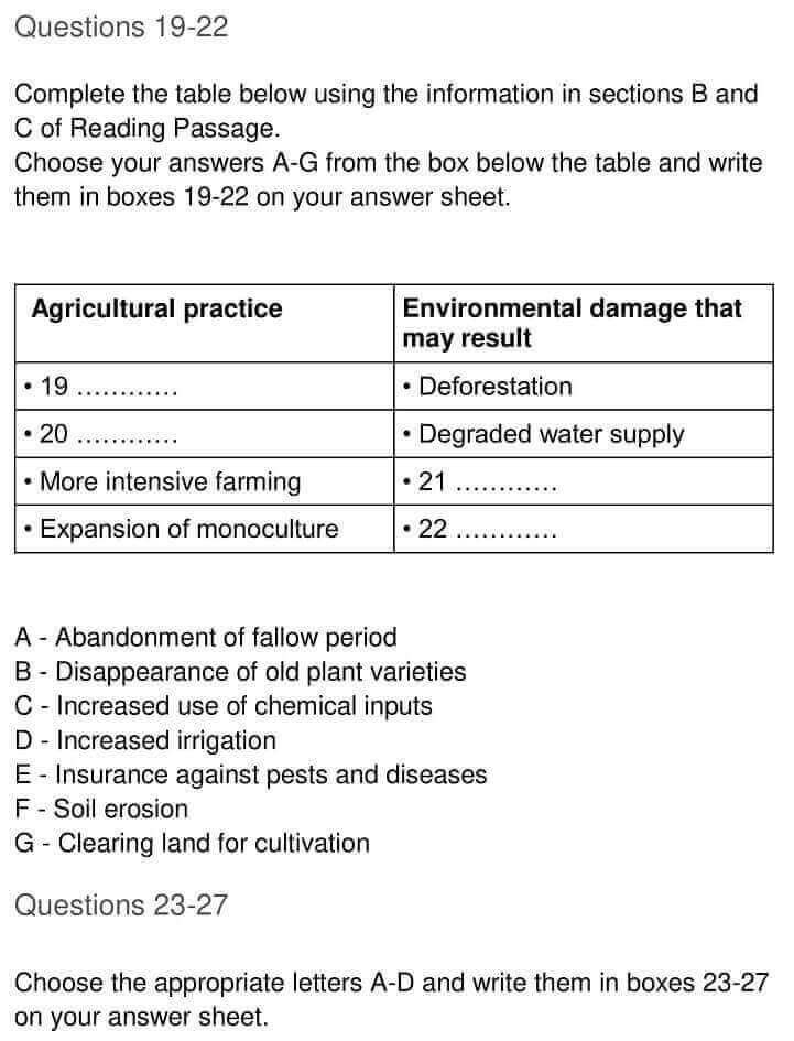 IELTS Academic Reading 'The Role of Government in Environmental Management' Answers - 0006