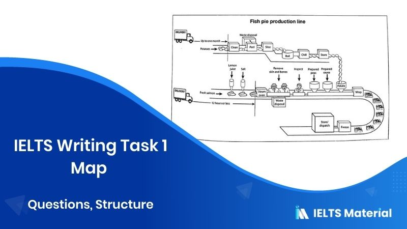 IELTS Writing Task 1 Map - Questions, Structure