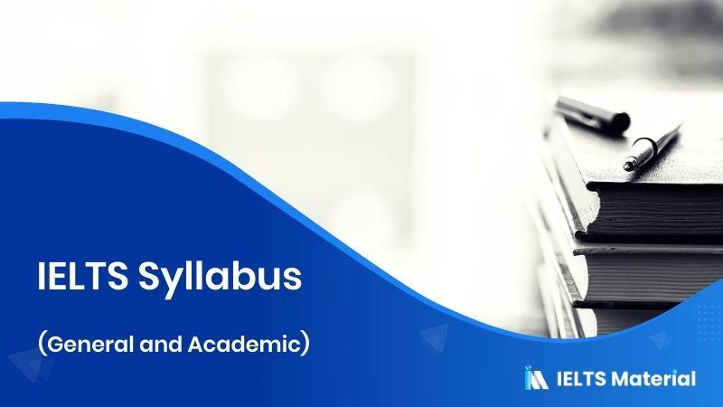 IELTS Syllabus