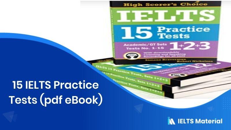 15 IELTS Practice Tests (pdf eBook)