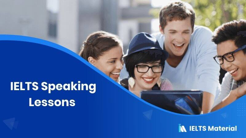 IELTS Speaking Lessons