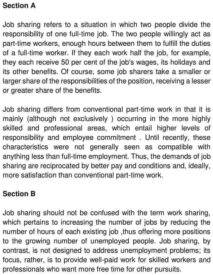Job Sharing - 0001