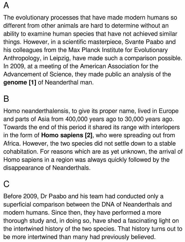 modern humans 1