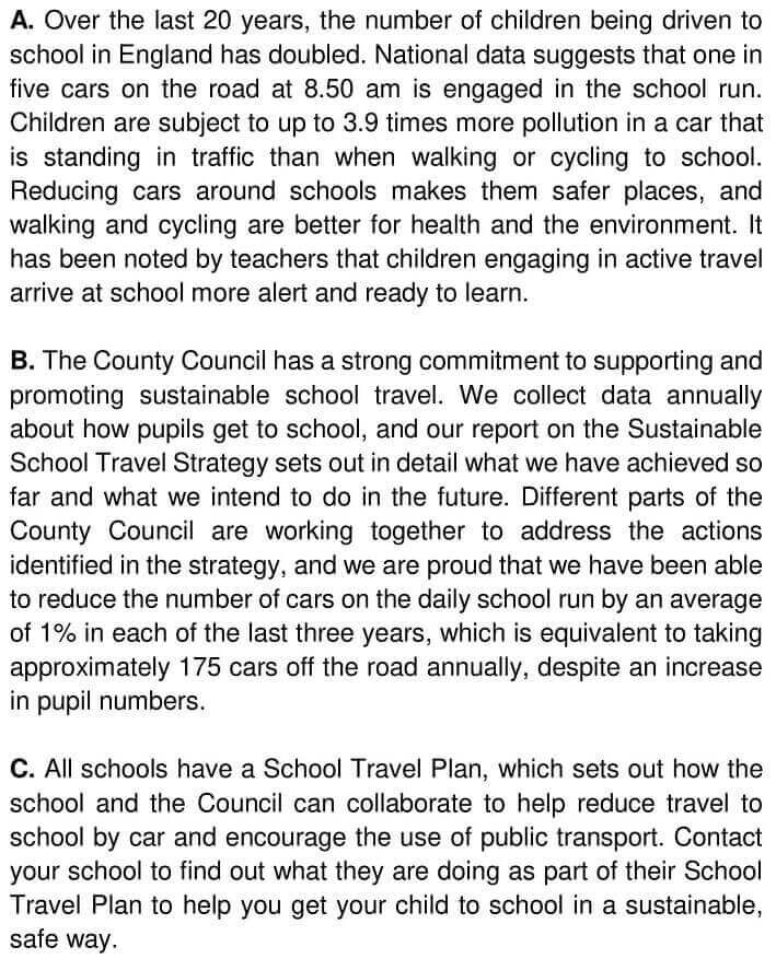 Sustainable School Travel Strategy & Flu_ The Facts - 0001
