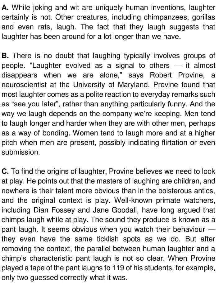 The Origins Of Laughter - 0001