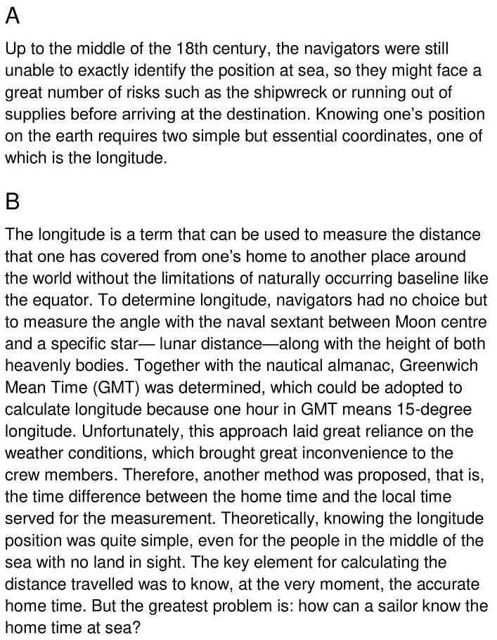 marine chronometer - 1