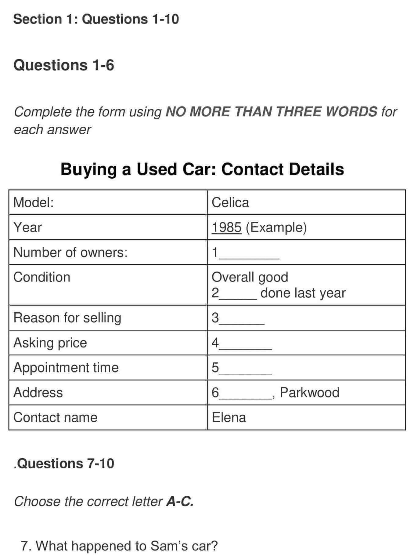 Buying a used car 0001