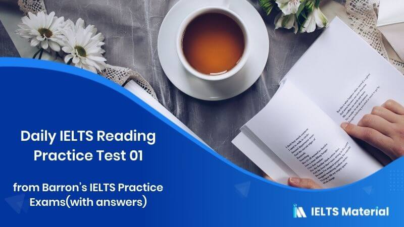 Daily IELTS Reading Practice Test 01 from Barron's IELTS Practice Exams(with answers) - Topic : The Value of a College Degree, Less Television, Less Violence and Aggression, Issues Affecting the Southern Resident Orcas