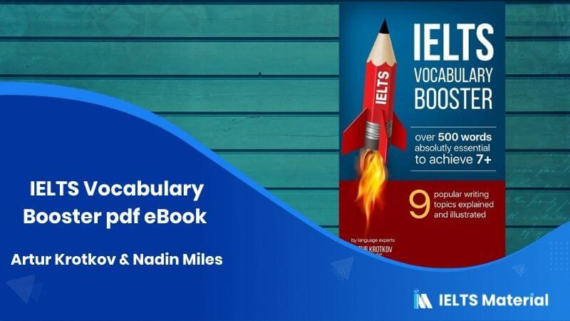 IELTS Vocabulary Booster pdf Ebook - Artur Krotkov & Nadin Miles