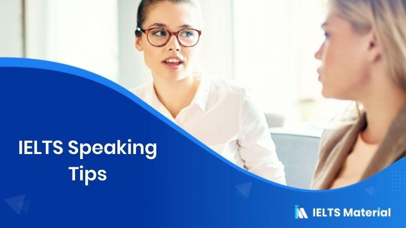 IELTS Speaking Tips 2020
