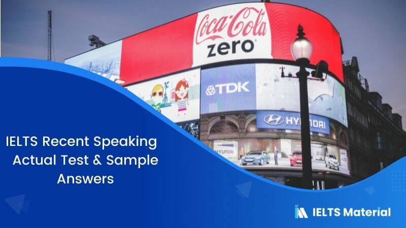 IELTS Speaking Sample Answers for Actual Test – September 2016
