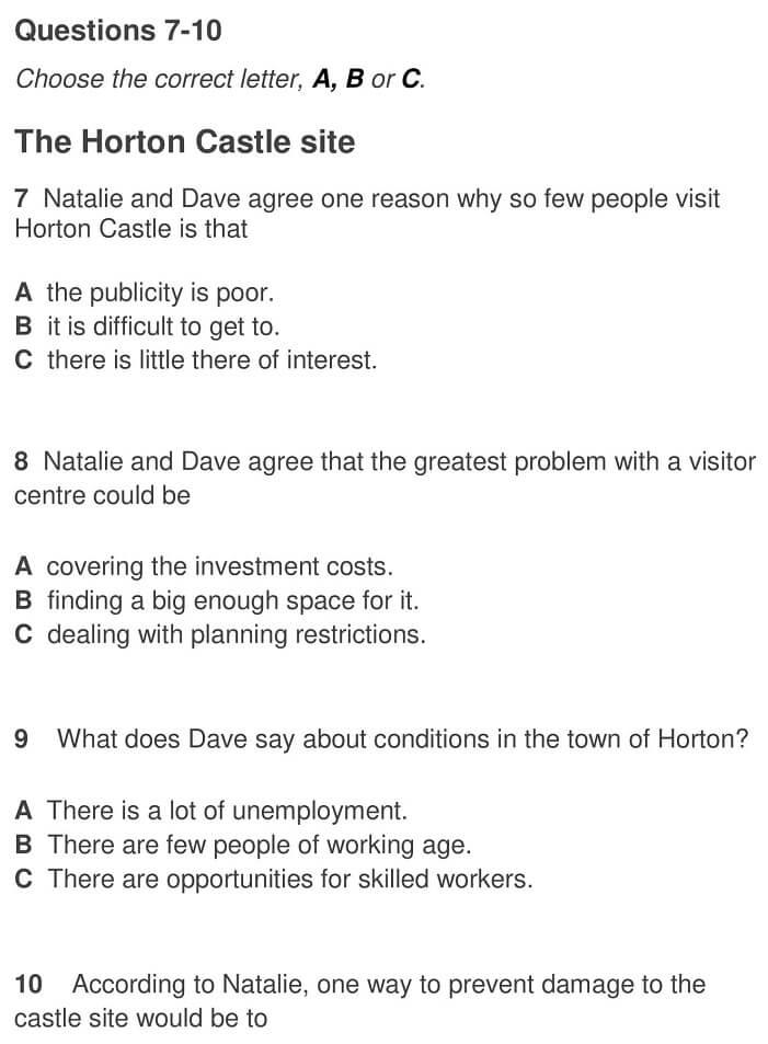 The Horton Castle site 0001