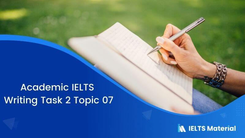 IELTS Writing Task 2 Topic 07: Is it right to exclude males or females from certain professions because of their gender?