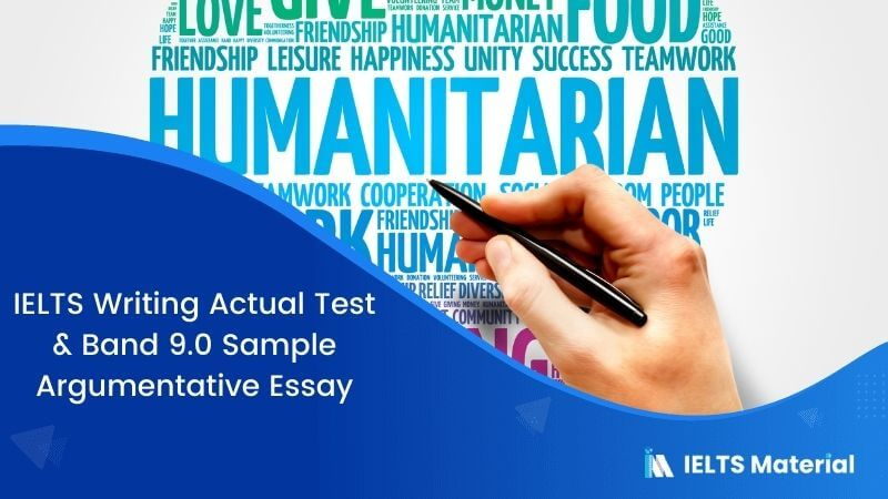 IELTS Writing Actual Test in March, 2016 & Band 9.0 Sample Argumentative Essay