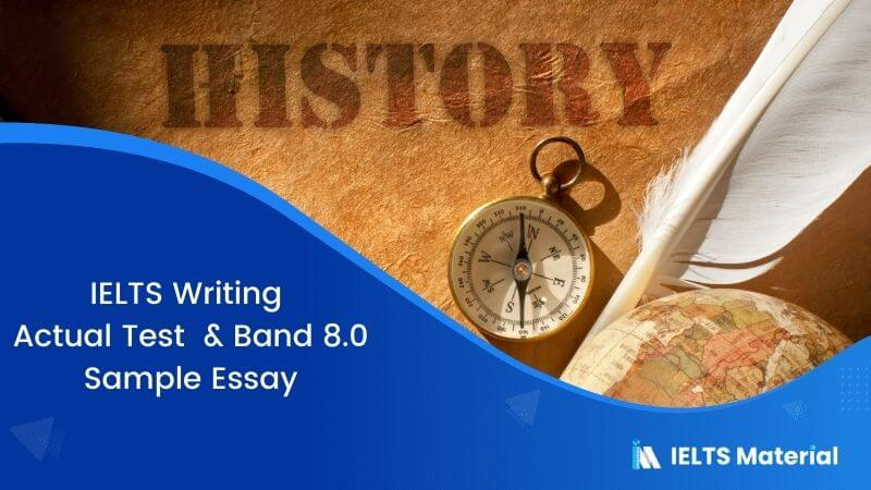 Studying from the past offers no benefits to today's life – IELTS Writing Task 2