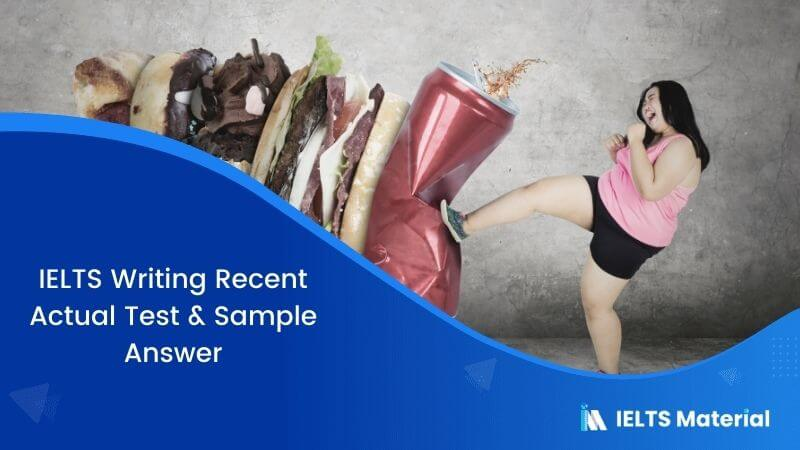 IELTS Writing Task 2 Topic: Children are becoming overweight and unhealthy