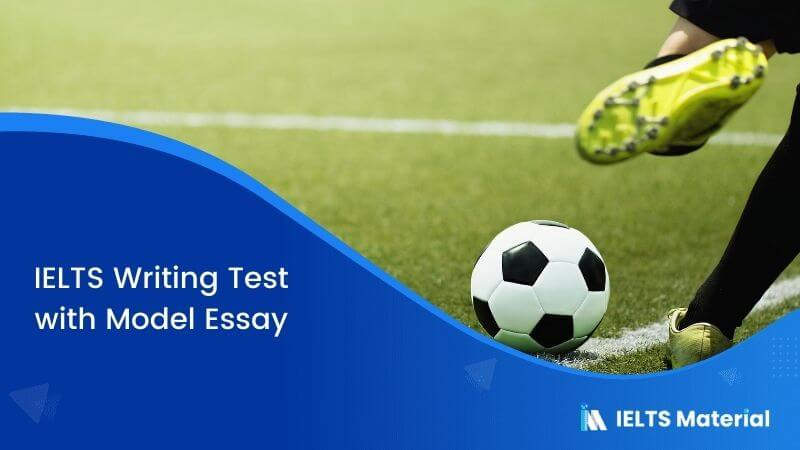 It is more beneficial to take part in sports which are played in teams, like football – IELTS Writing Task 2
