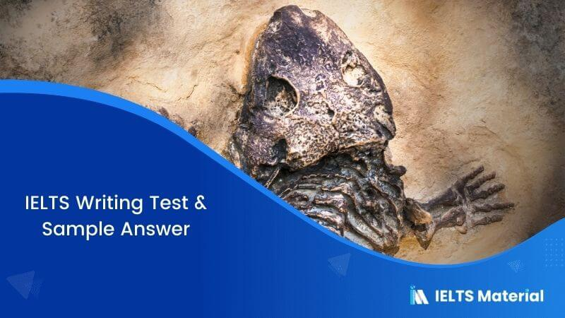 The animal species are becoming extinct due to human activities on land and in sea – IELTS Writing Task 2