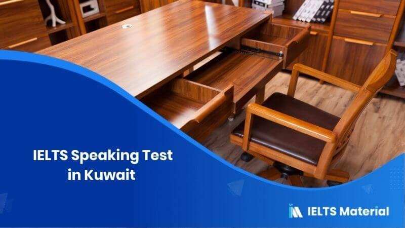IELTS Speaking Test in Kuwait – Feb 2018