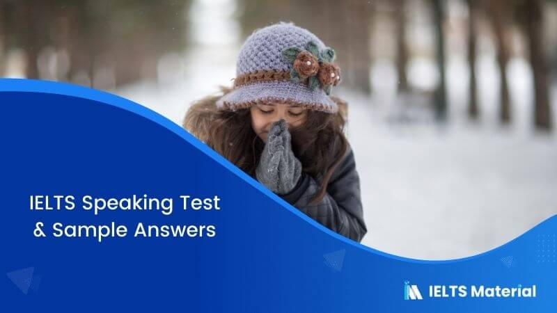 IELTS Speaking Test in Indonesia – March 2018 & Sample Answers