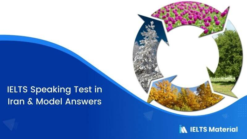 IELTS Speaking Test in Iran with Model Answers – June 2018