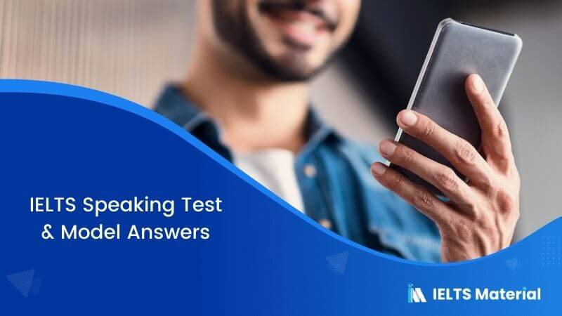 IELTS Speaking Test in South Korea with Model Answers – March 2018