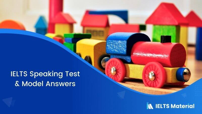 IELTS Speaking Test in the UK with Model Answers – Jan 2018