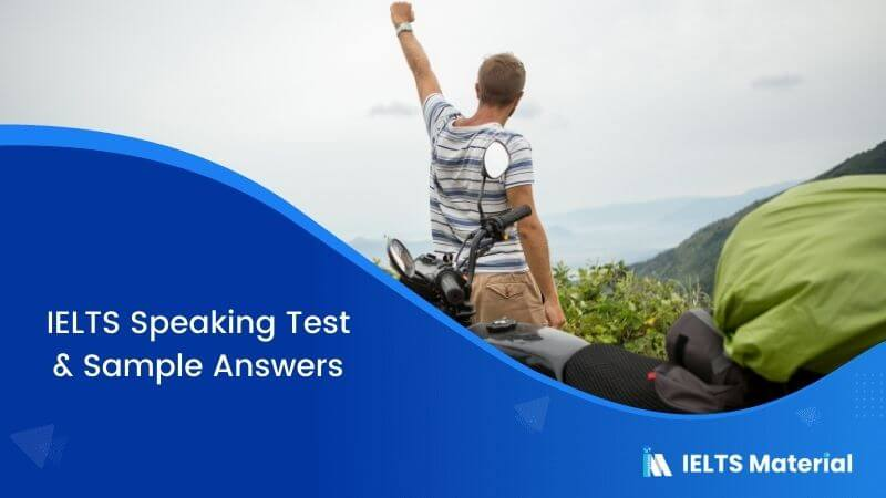 IELTS Speaking Test in the United Arab Emirates with Sample Answers – January 2018