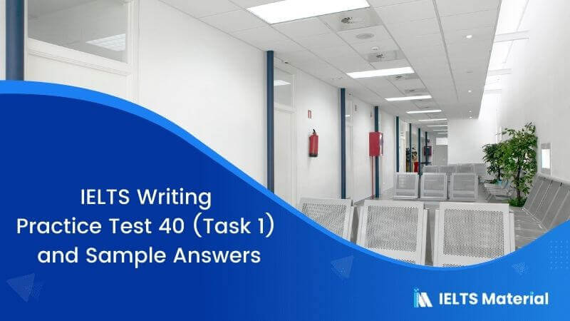 IELTS Writing Practice Test 40 (Task 1) and Sample Answers