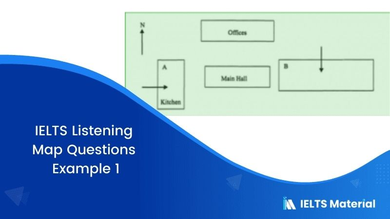 IELTS Listening Map Questions | Example 1