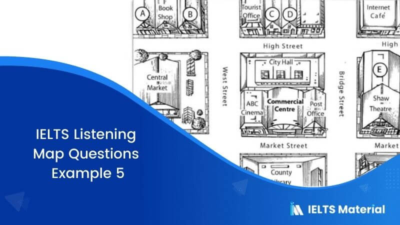 IELTS Listening Map Questions | Example 5