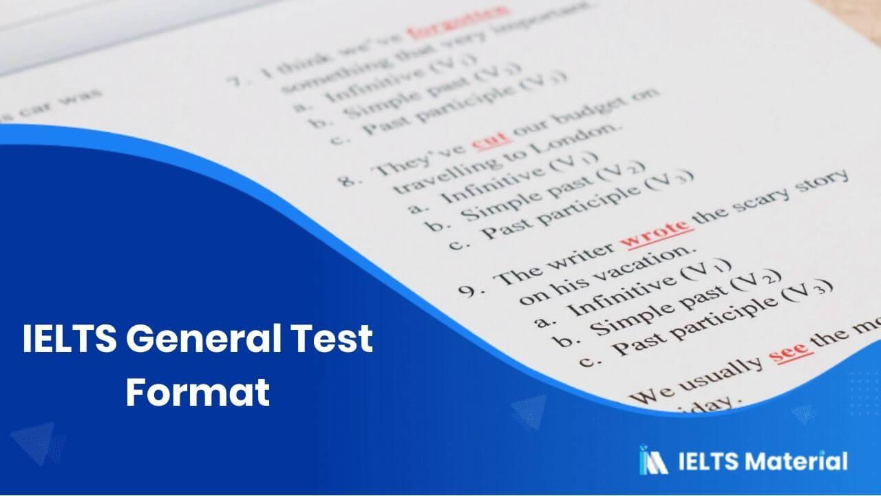 IELTS General Test Format