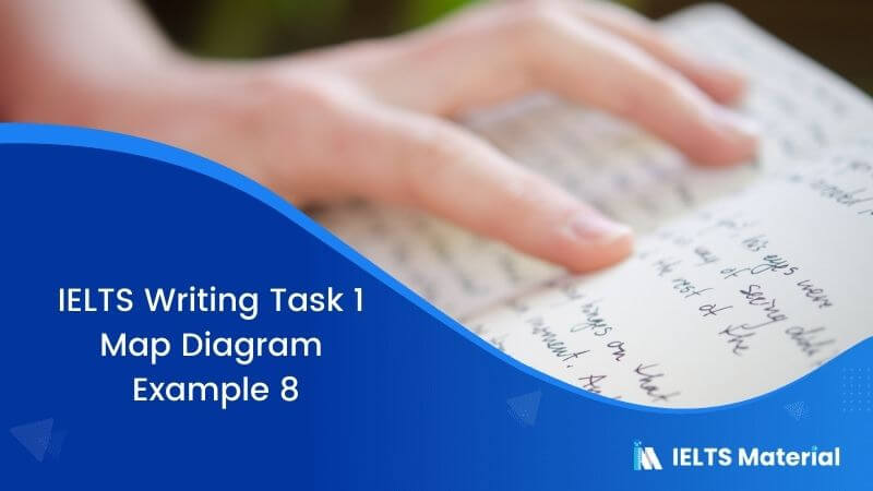 IELTS Writing Task 1 Map Diagram - Example 8