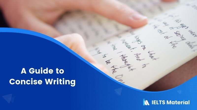 A Guide to Concise Writing