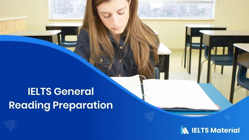 IELTS General Reading Preparation