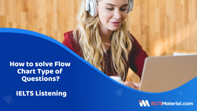 How to solve Flow Chart Type of Questions – IELTS Listening?