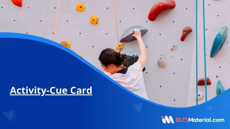 Activity-Cue Cards