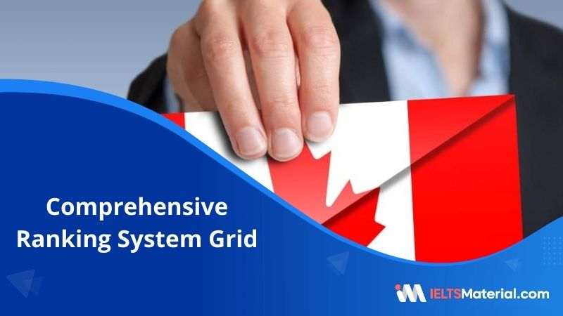 Comprehensive Ranking System (CRS) Grid