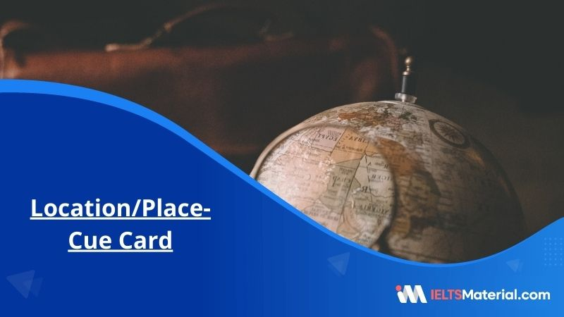Location/Place- Cue Card