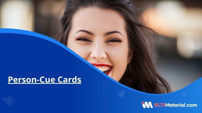Person-Cue Cards