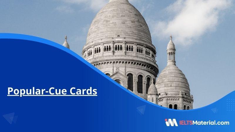 Popular-Cue Cards