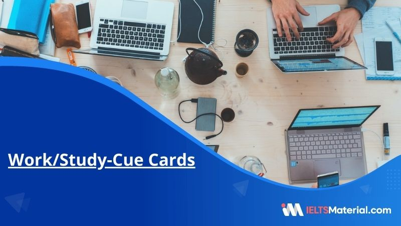 Work/Study-Cue Cards