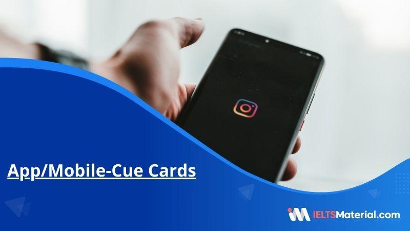 App/Mobile-Cue Cards