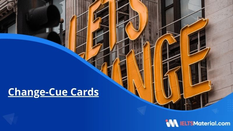 Change-Cue Cards