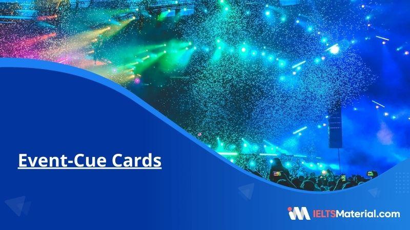 Event-Cue Cards