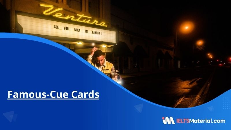 Famous-Cue Cards