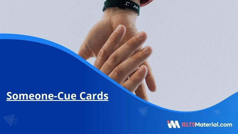 Someone-Cue Cards