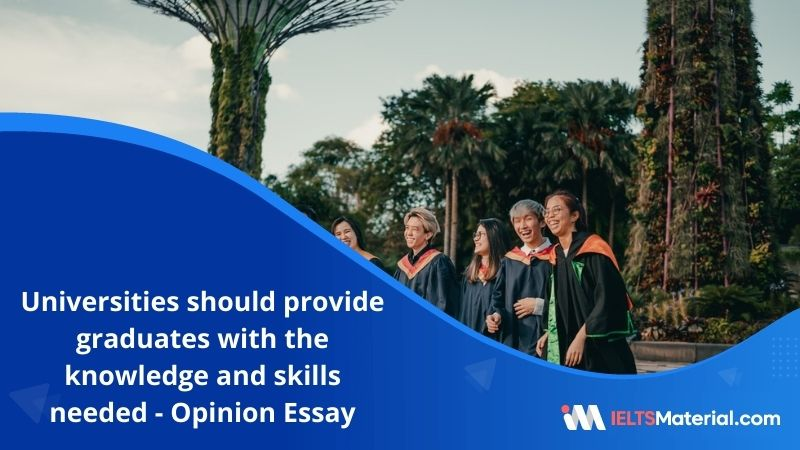 Some People Think that Universities Should Provide Graduates With the Knowledge and Skills Needed in The Workplace – IELTS Writing Task 2