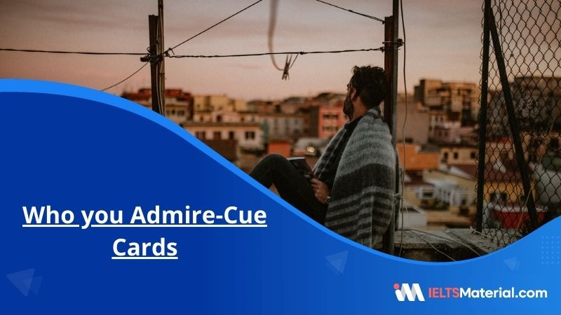 Who you Admire-Cue Cards